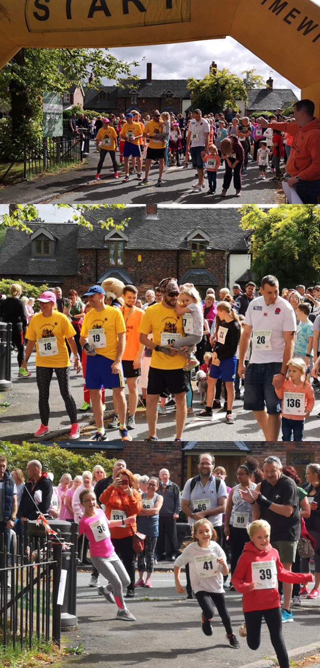 Worlds Shortest Fun Run - Burntwood