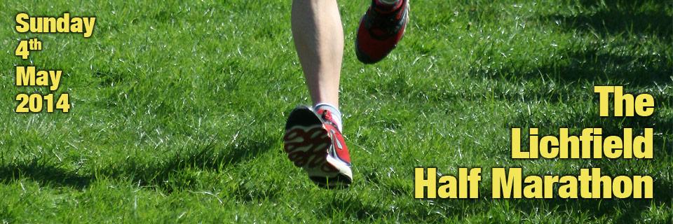 Lichfield half marathon 2014 Staffordshire