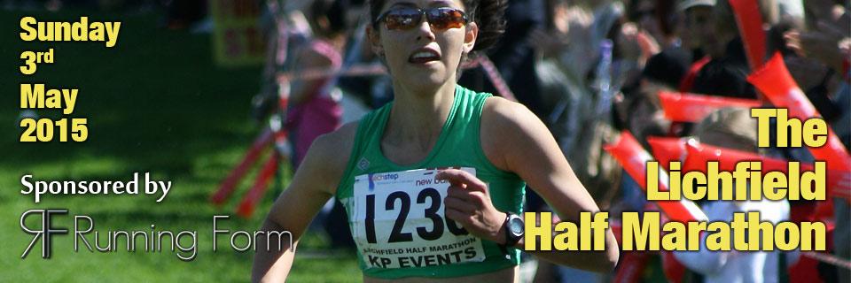 Lichfield half-marathon 2015