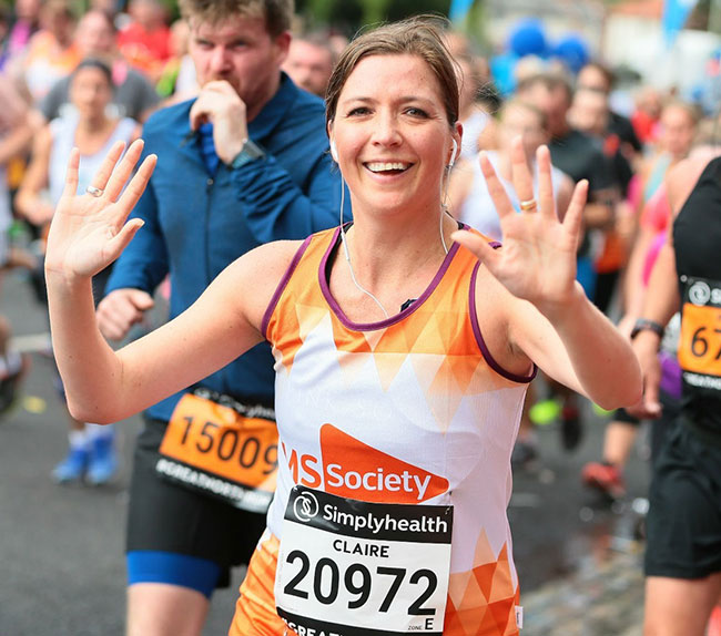 Raising money for the MS Society