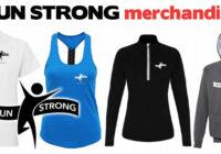 Run Strong merchandise clothing