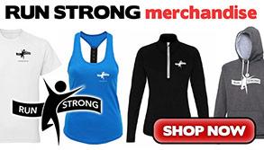 Run Strong running merchandise