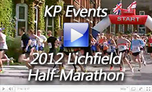 Video of the 2012 Lichfield Half Marathon