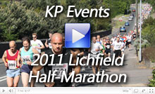 Video of the  2011 Lichfield Half-Marathon