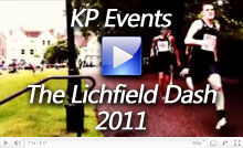 The Lichfield Cathedral Dash 2011 Video